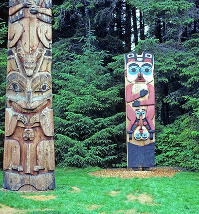 Remonter l'histoire des peuples d'Alaska