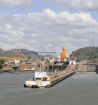 Le canal de Panama - Panama