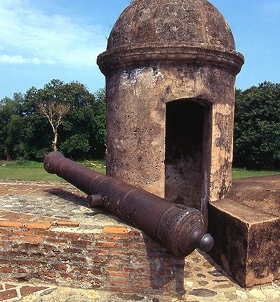 La forteresse Fernando de Omoa - Honduras
