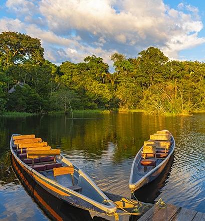 Naviguer sur l'Amazone
