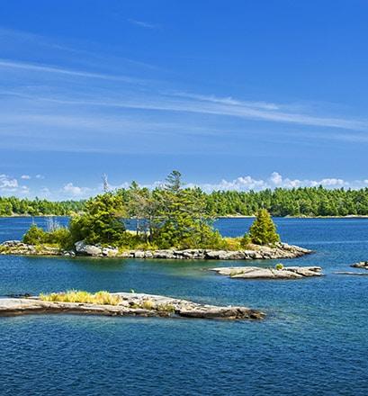 Survoler la baie Georgienne - Canada