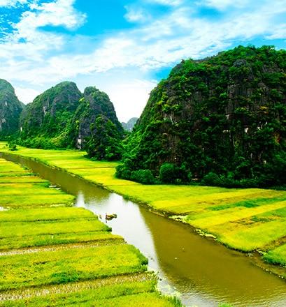Sich treiben lassen in Ninh Binh – Vietnam