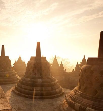Apprécier les merveilles de Borobudur - Indonésie