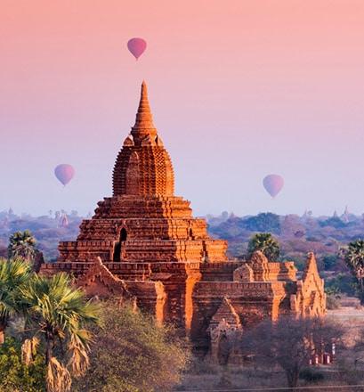 Être touché par la magie de Bagan - Birmanie