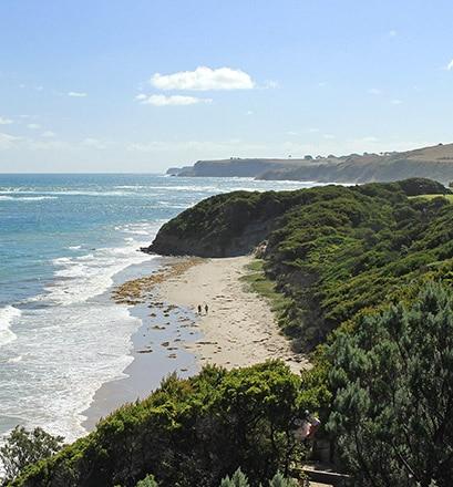 La côte sud australienne