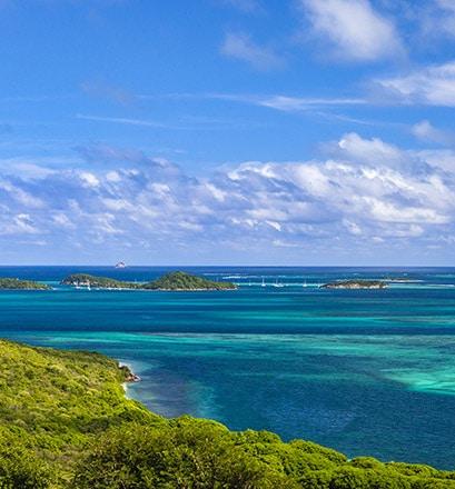 Découvrir l'archipel des Grenadines