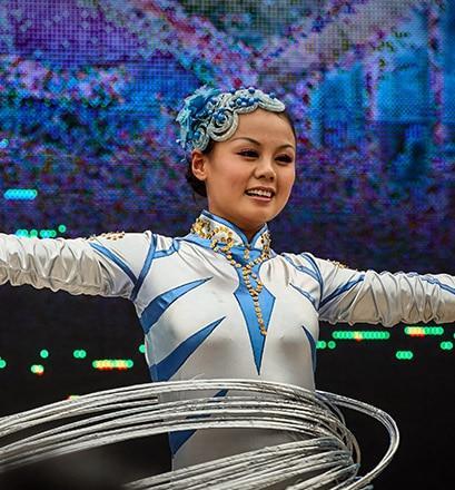 Assister à un spectacle d'acrobatie chinoise