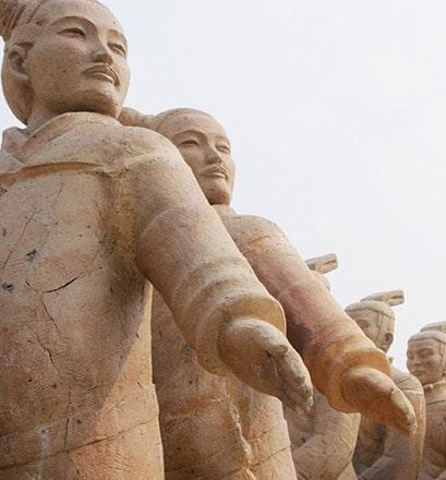 Découvrir l'armée de terre cuite de Xi'an