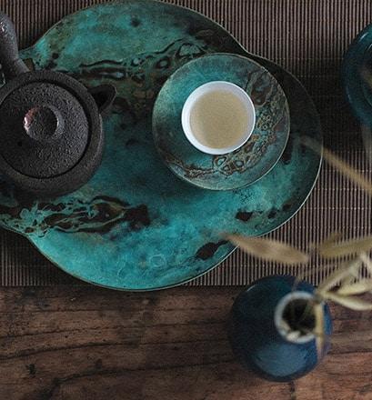 Profiter d'une séance de tai chi et d'un bon thé