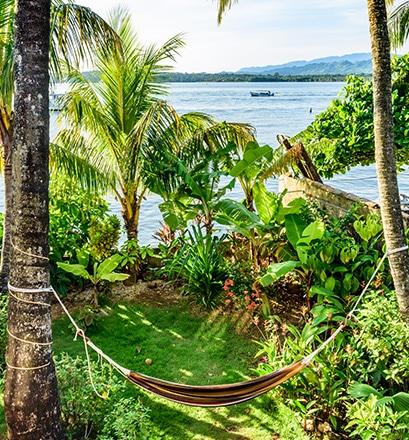 Livingston - embouchure du Rio Dulce, côte caraïbe, Guatemala