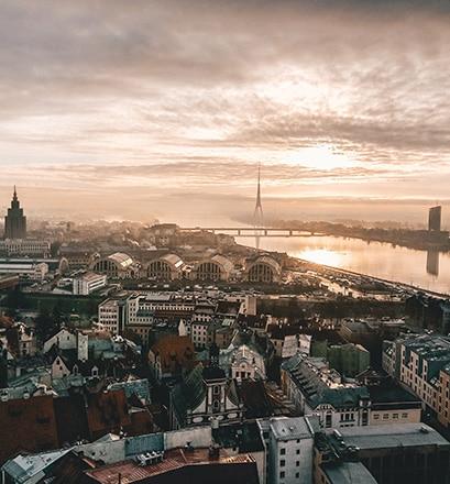 Se balader dans Riga - Lettonie