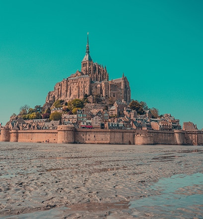 Delight in Mont-Saint-Michel