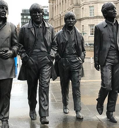 Suivre les traces des Beatles à Liverpool - Angleterre