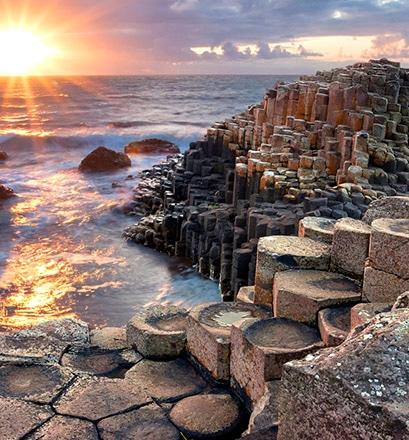 Marcher sur la Chaussée des Géants - Irlande du Nord