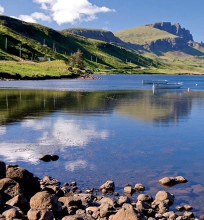 Profiter d'une nature grandiose sur l'île de Skye - Écosse