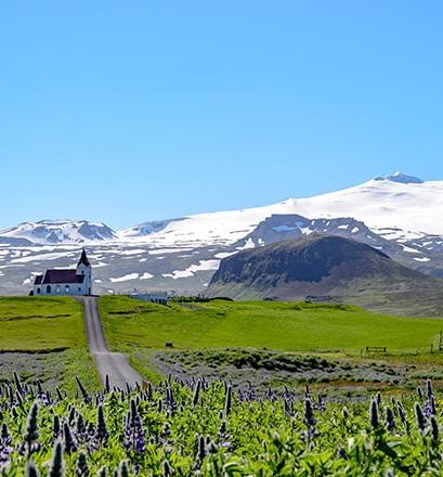 Admirer le volcan Snæfellsjökull