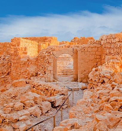 Visiter la forteresse de Massada - Israël