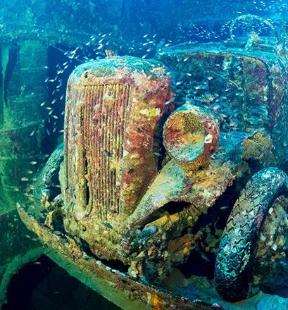 Plonger à la découverte des épaves du lagon de Chuuk