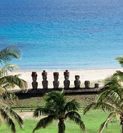 Découvrir les moaï - île de Pâques