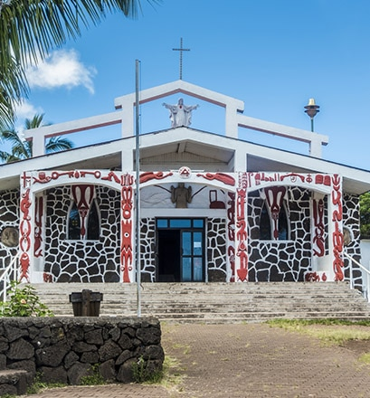 Visit peaceful Hanga Roa