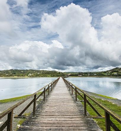 Aborder l'île de Chiloé