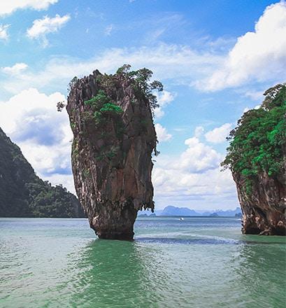 Découvrir la baie de Phang Nga en hors-bord - Thaïlande