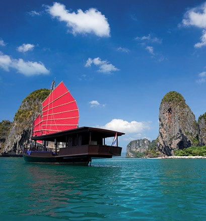 Set sail in Ha Long Bay