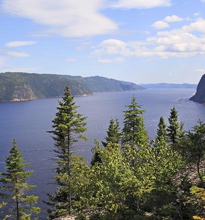Walk in Fjord-du-Saguenay Park - Quebec