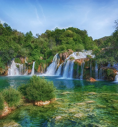 Se balader au cœur du parc national de Krka