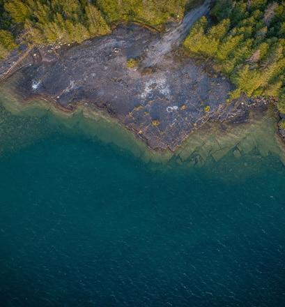 Randonner à cheval dans la baie de Honora - Canada
