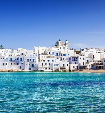 Appreciate a more relaxed way of life in Paros