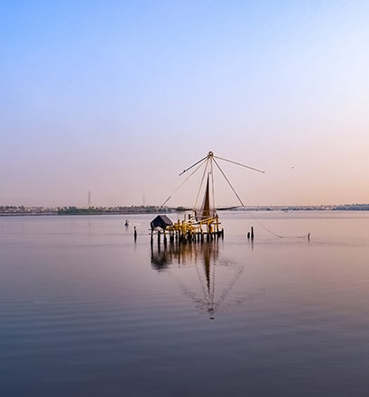 Croiser les civilisations à Cochin, État du Kerala - Inde