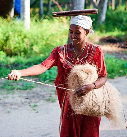 Learn about local life in Vaikom, Kerala - India