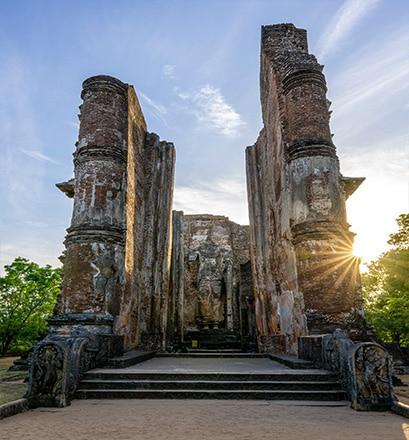 Visiter les sites archéologiques - Sri Lanka