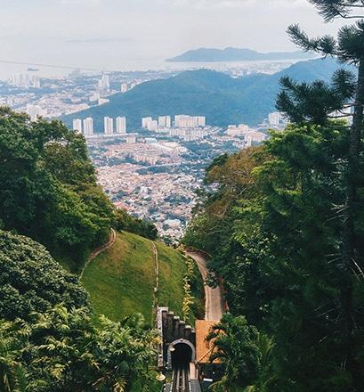 Découvrir George Town entre nature et centre urbain, Penang - Malaisie