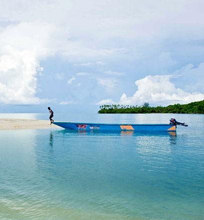 Voir le paradis, dans les îles Kei, Moluques - Indonésie
