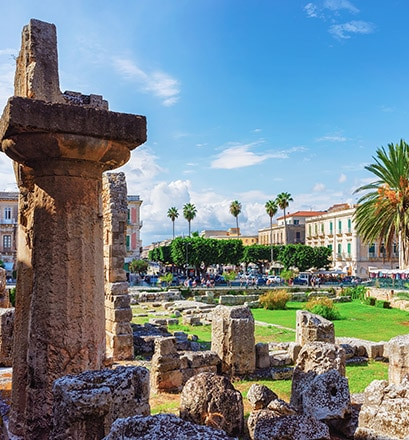 Remonter le temps à Syracuse - Sicile