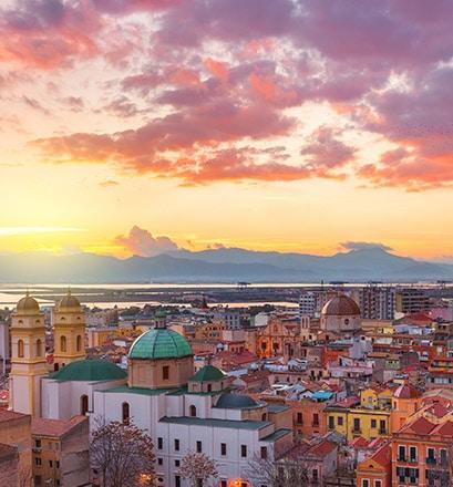 Découvrir Cagliari à pieds - Sardaigne