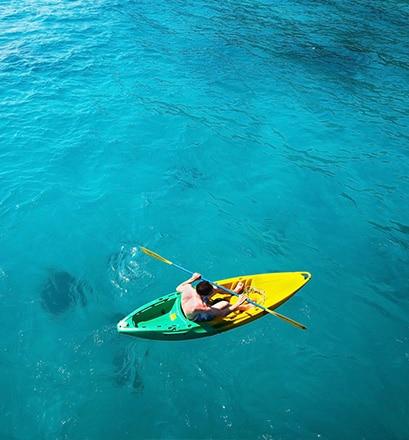 Explorer le lagon de la Saline en kayak - La Réunion