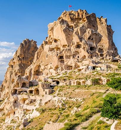 Arpenter la région de la Cappadoce -Turquie