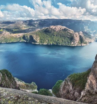 Naviguer dans Lysefjorden - Norvège