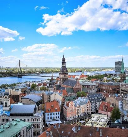 Découvrir Riga, entre terre et canaux - Lettonie
