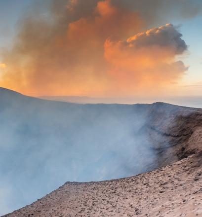 See the erupting Mount Yasur - Tanna Island, Vanuatu
