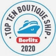 Berlitz Guide 2020 in der Kategorie Top 10 Boutique Ships