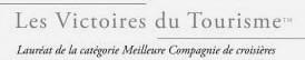 Prix « Meilleure Compagnie de Croisière »