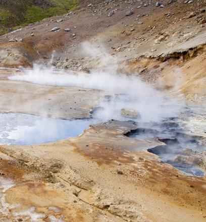 Erkunden Sie die geothermischen Landschaften Islands