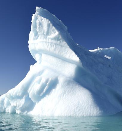 Contempler des paysages polaires