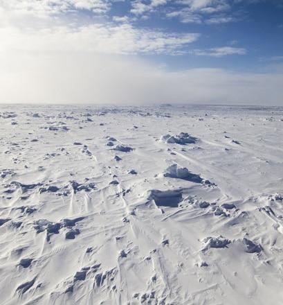 Atteindre le mythique pôle Nord géographique